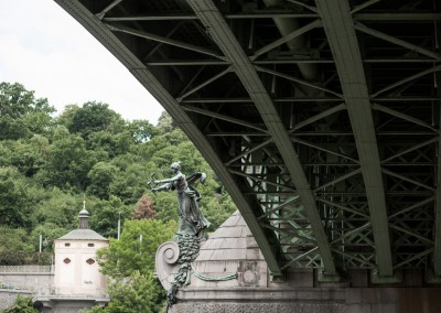 The shortest bridge in Prague