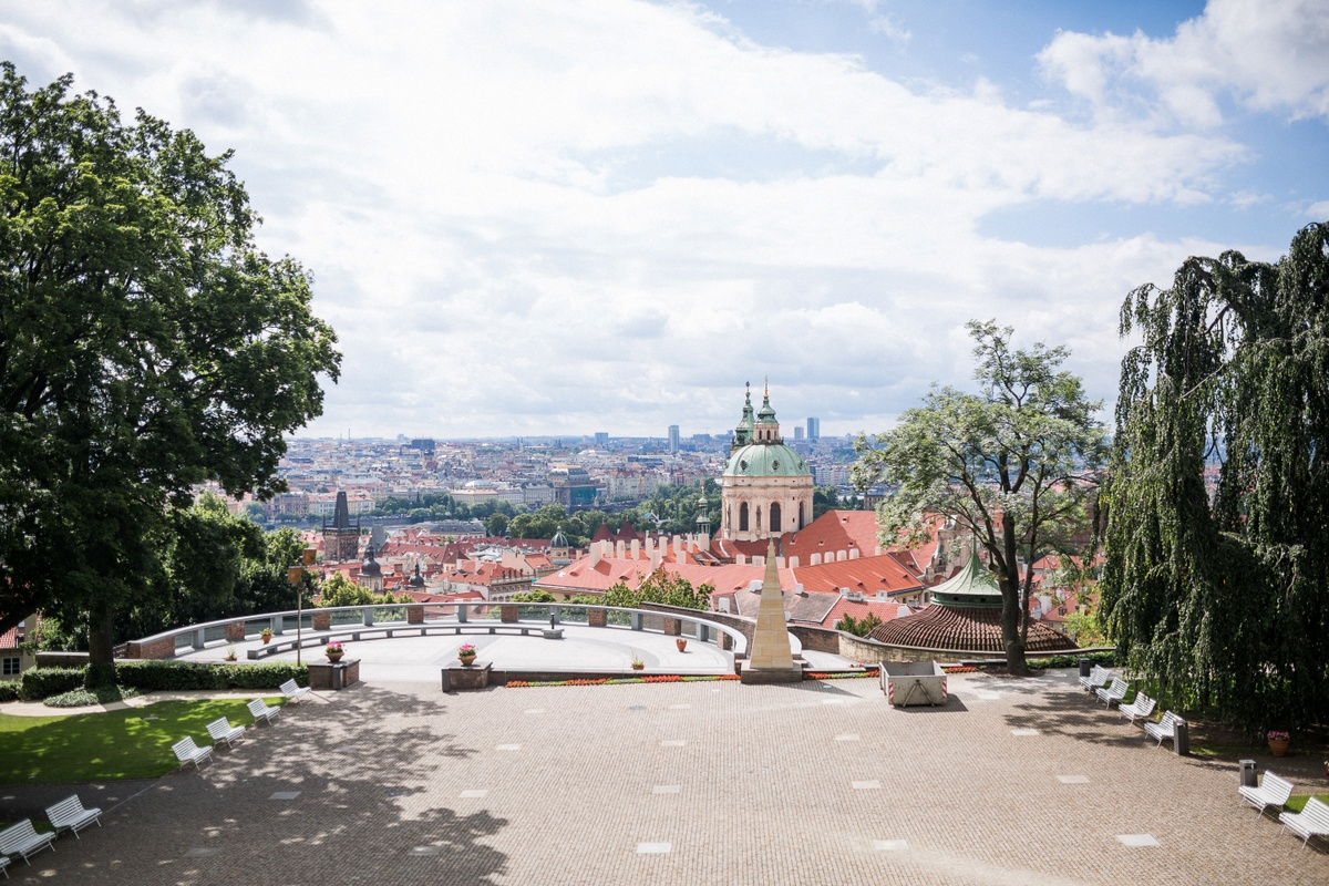 Prague views - Na Valech garden