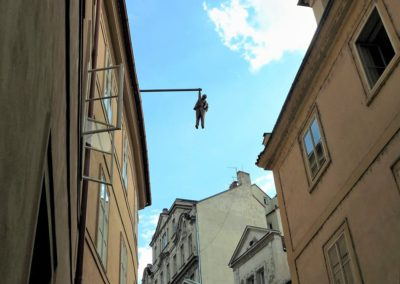 Hanging man by David Černý - Unknown Downtown Tour 2,5h