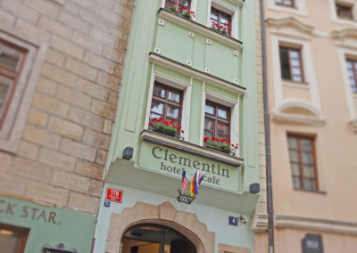The narrowest house in Prague
