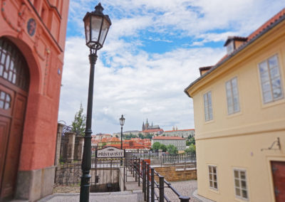 Stunning views of Prague Castle