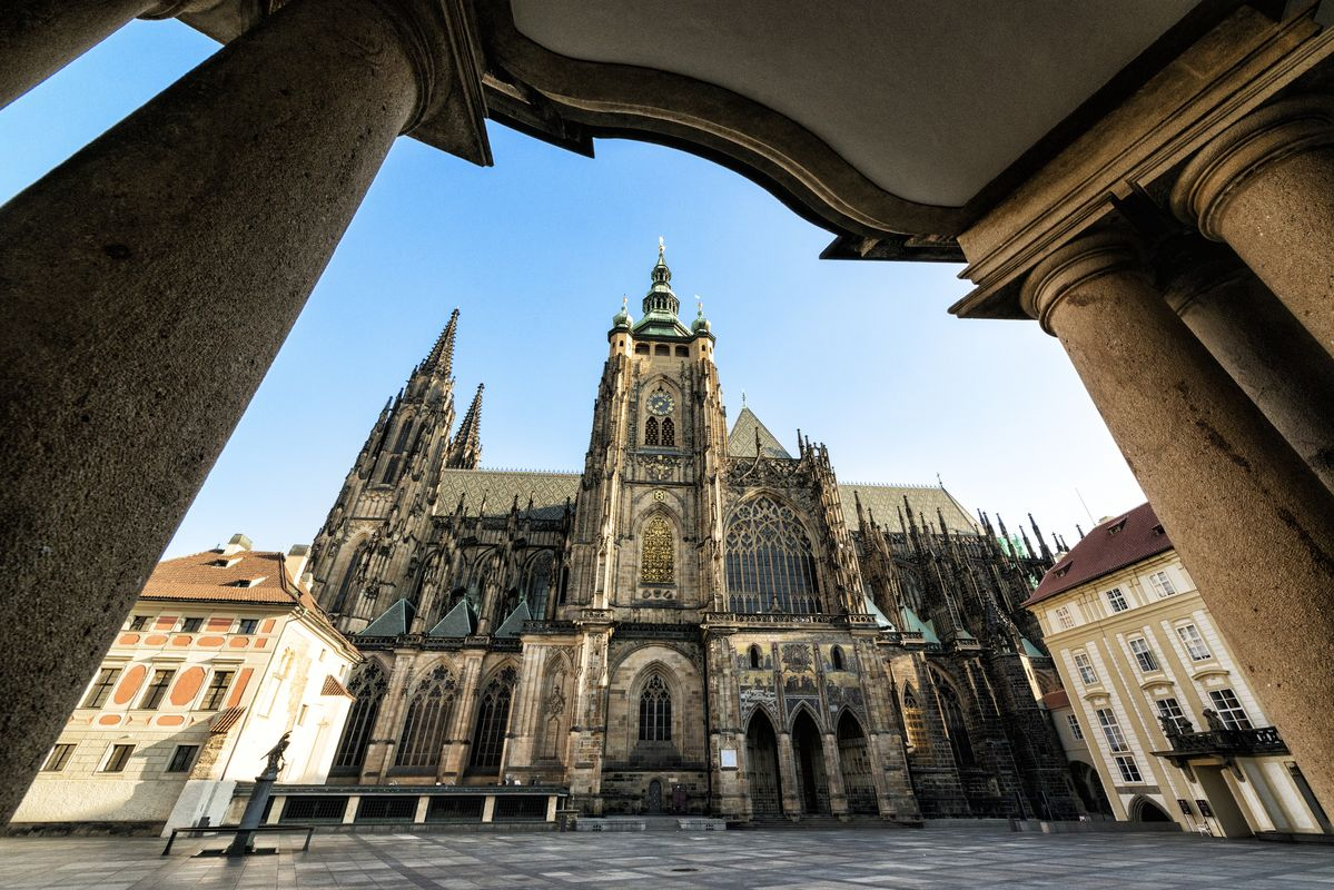 Great South Tower Of St.Vitus Cathedral. Photo: Prague.eu