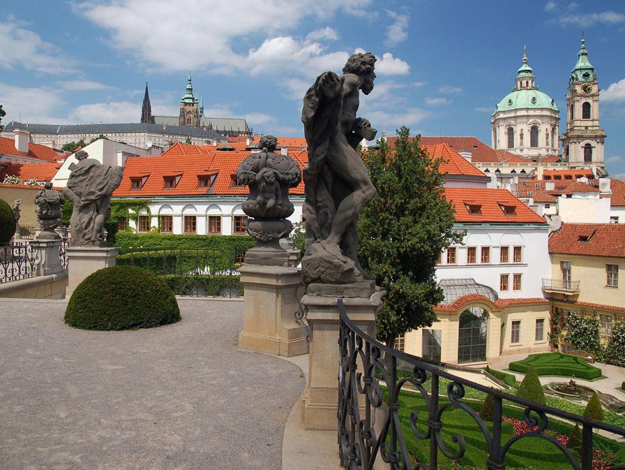 Vrtba garden in Prague Lesser Town. Photo: Prague.eu