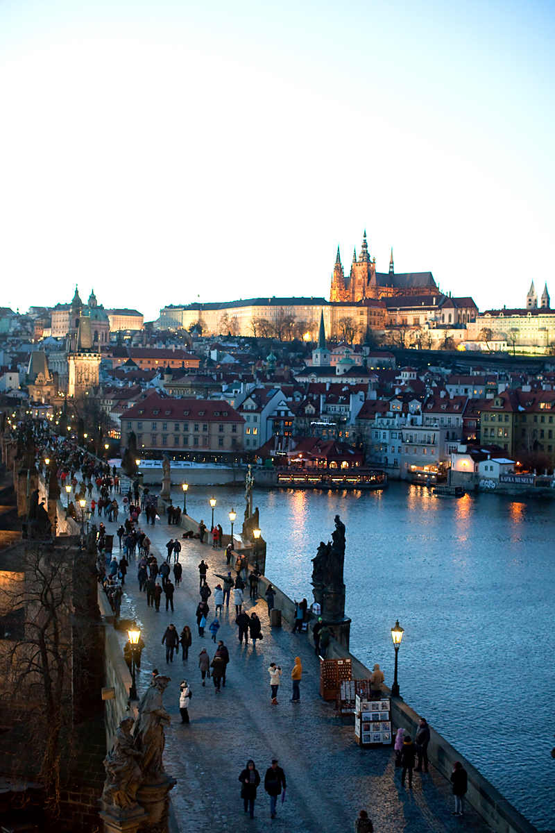 Prague views from Old Town Bridge Tower Photo: www.prague-up.com