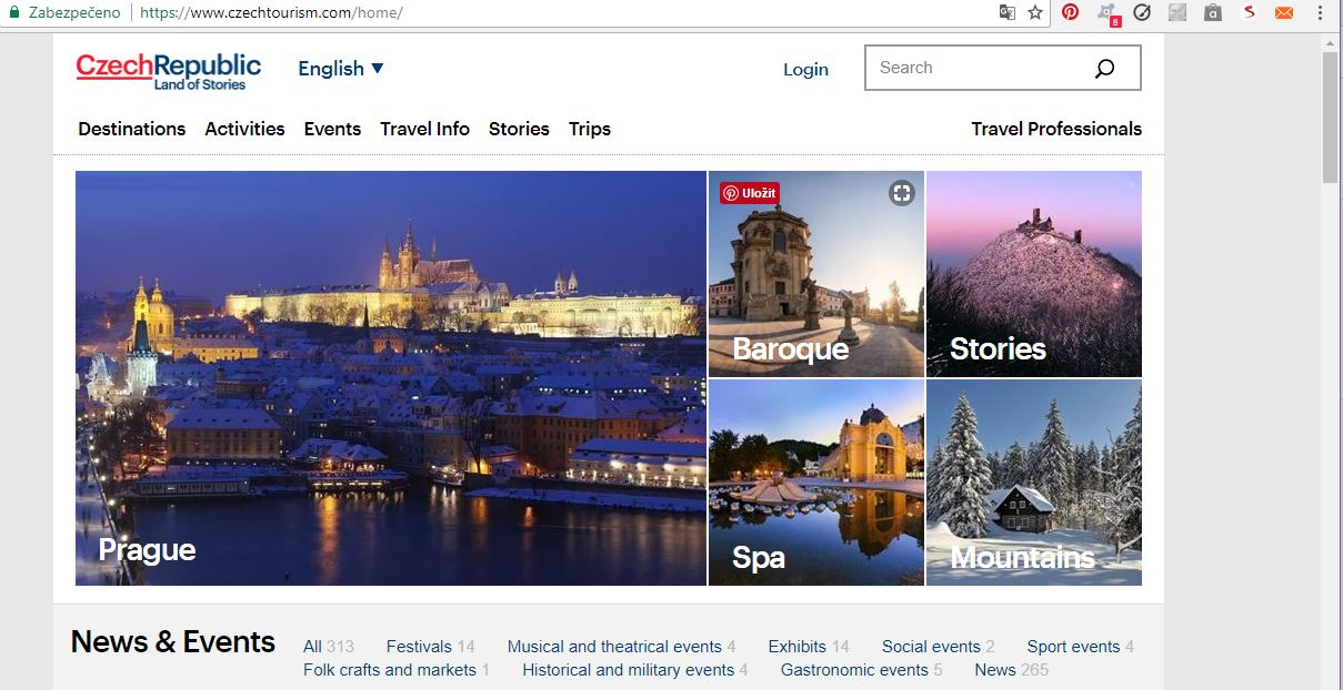 This website will help you to get information about Prague and also about the whole Czech Republic.