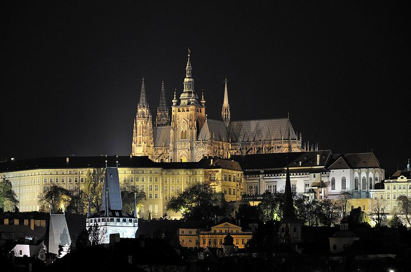 Prague Castle is open daily til 10pm. Photo: wikimedia