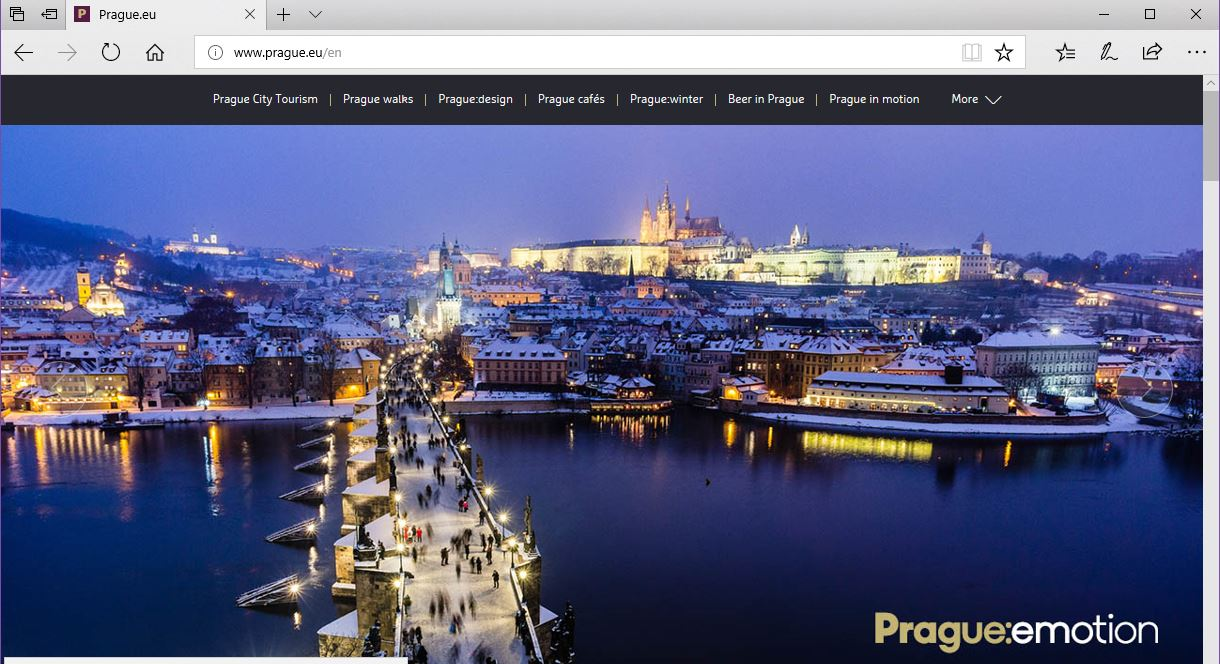 Information about Prague in one place. Very useful source.