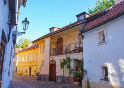 Nový Svět quarter - 10 minutes from Prague Castle